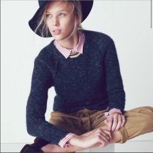 Madewell multi-colored 3/4 sleeve sweater 03586